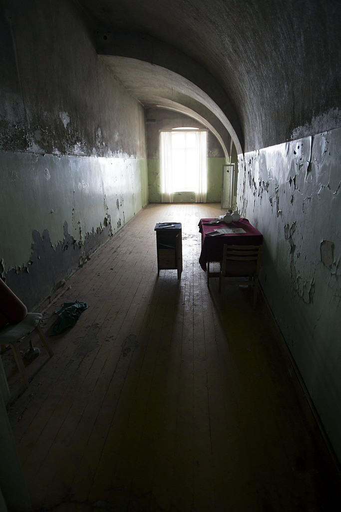 Abandoned room
