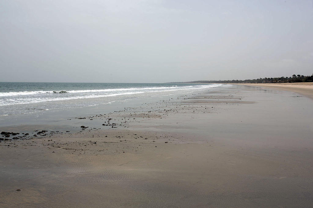 Beach in Gambia
