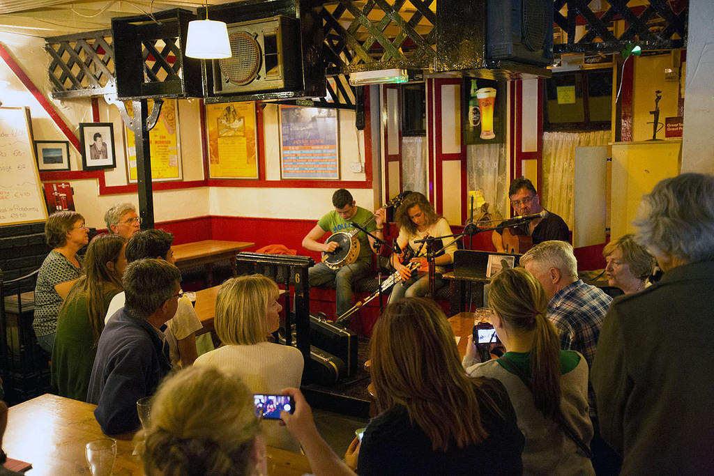Traditional music in Doolin