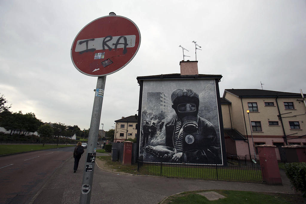 Mural in Republican Derry