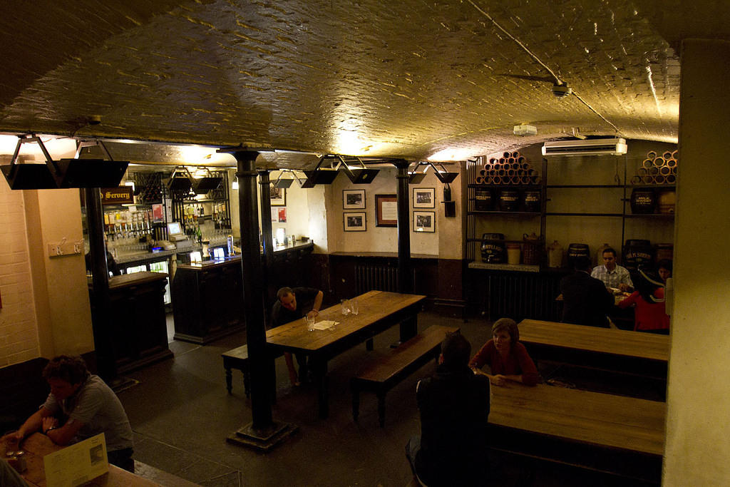 Cellar in Cheshire Cheese