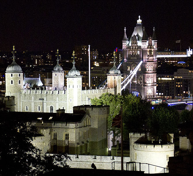Tower of London and Tower Bridge