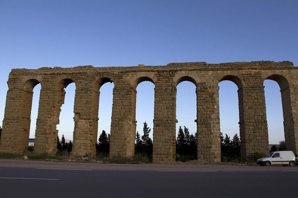 Aqueduct outside Tunis