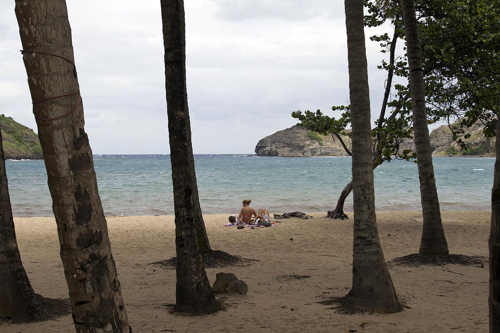 Pont Pierre beach, Les Saintes