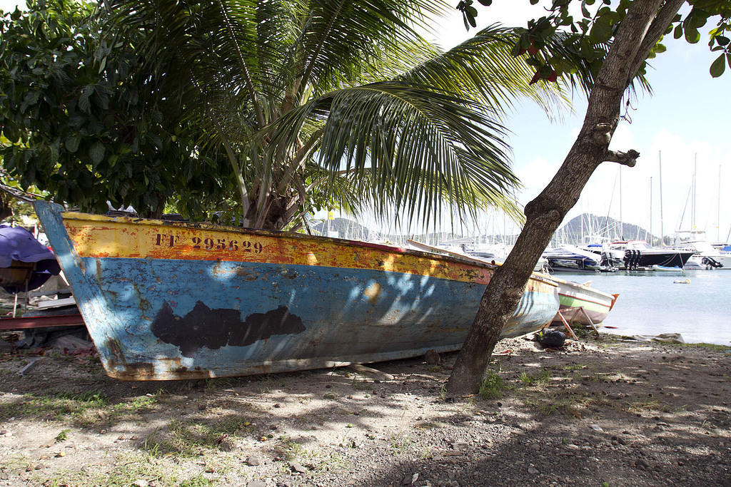 Fishing boat, Le Marin, Martinique