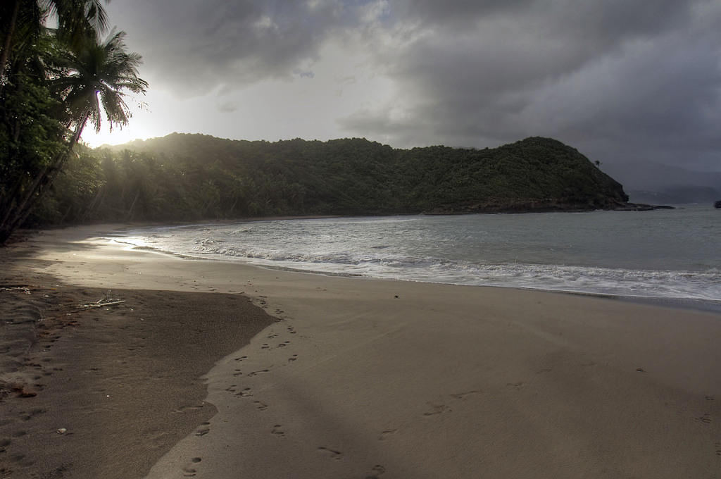 Batibou Bay HDR picture, Dominica