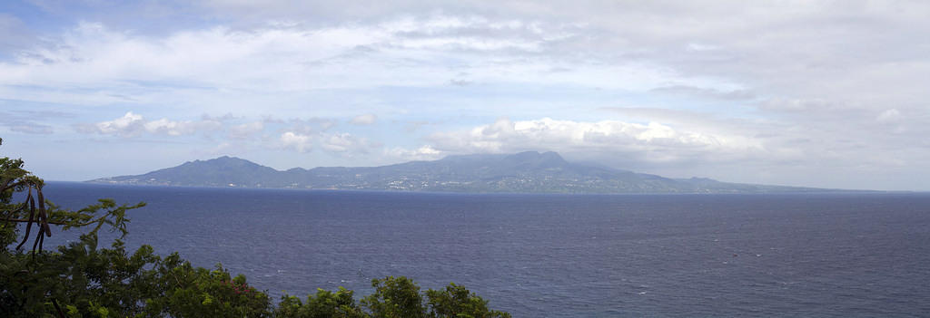 Guadeloupe from Les Saintes