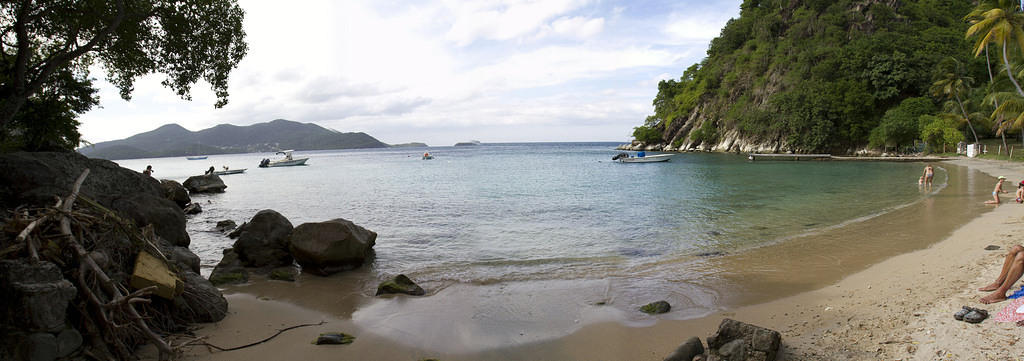 Sugarloaf beach, Les Saintes