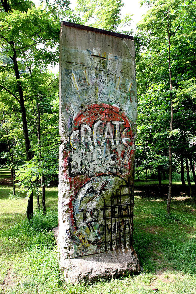 Berlin Wall at Kentuck Knob