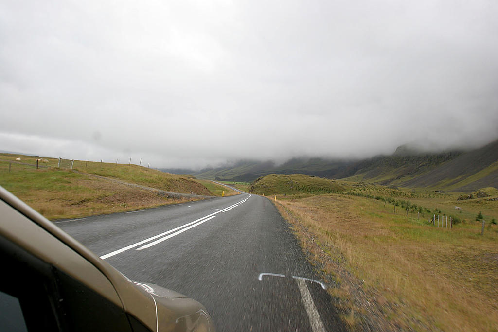 The long drive to Höfn