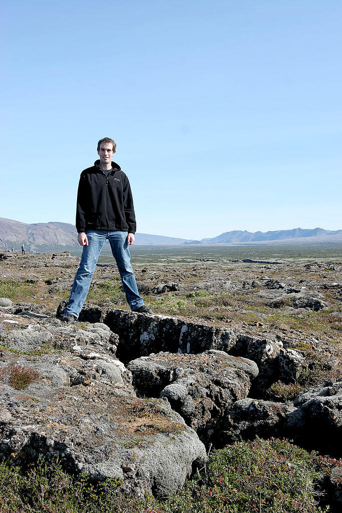 Þingvellir: where the North American and European continental plates meet