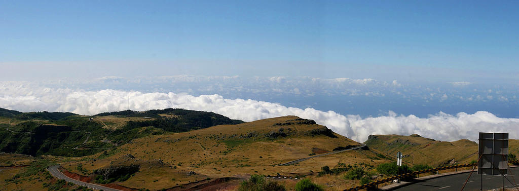 Above the clouds at Pico Ruivo