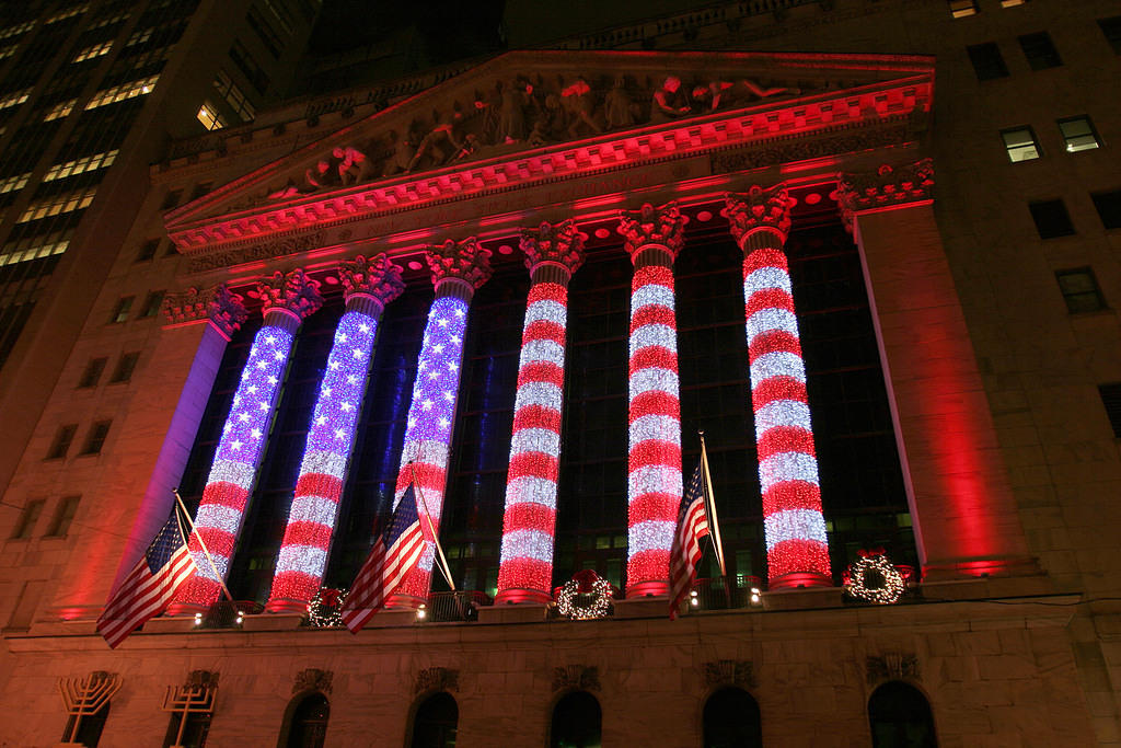 New York Stock Exchange at Christmas 2008, 2