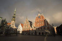 Old town Riga, House of Blackheads