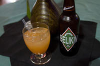 Rum punch and Belikin