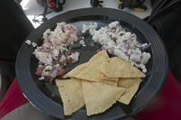 Lobster and mackerel ceviche