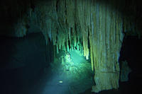 Lots of stalactites