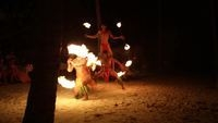 polynesian fire dance