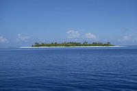 Atoll in the south