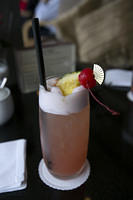 Singapore Sling at the Mandarin Oriental