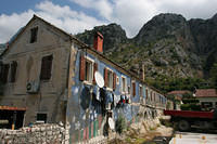 More ugly communist stuff in Kotor, Montenegro