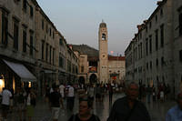 Belltower in Dubrovnik