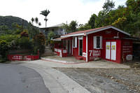 Miranda's restaurant in the rainforest in Dominica (near Pont Casse?).
