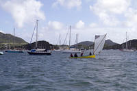 Sailing in Martinique