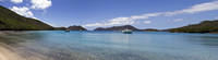 Waterlemon Bay panorama, St John