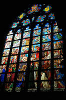 Stained glass, Cathedral of Our Lady