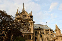 Notre Dame and flying buttresses