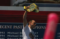 Joey Chestnut, reigning champion